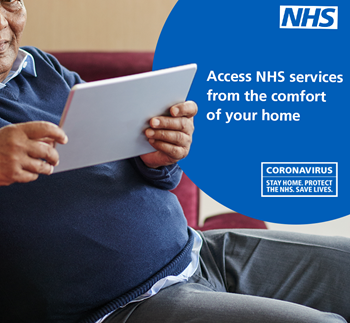 Access NHS services from the comfort of your home