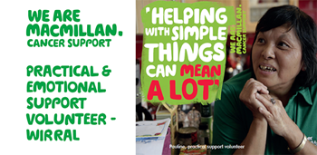 Wirral Support Volunteer Macmillan